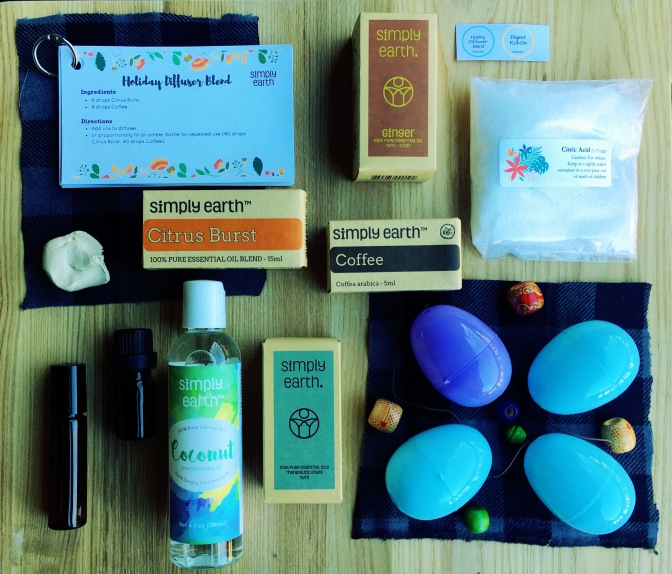 December Box: Simply Earth Eos + 13% to Fight Human Trafficking